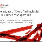 The Impact of Cloud Technologies on IT Service Management (ITSM)