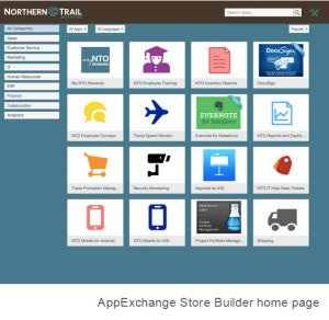 salesforce business appexchange store builder