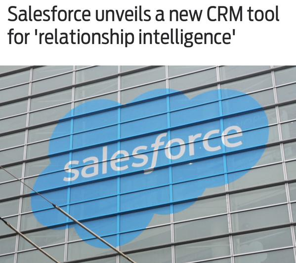 Salesforce relationship intelligence for Sales Cloud and Small business