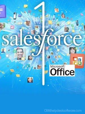 microsoft alliance salesforce.com :: dreamforce 2014 announcement  :: CRMhelpdesksoftware.com